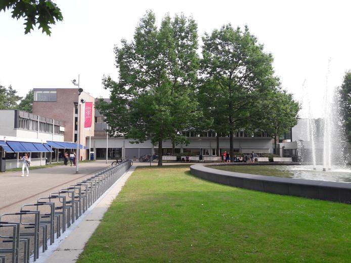 Enkele gebouwen op de campus van Tilburg University.
