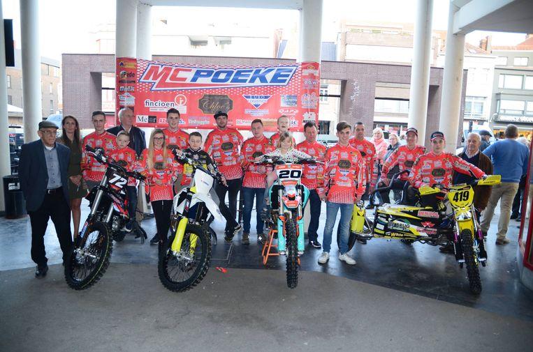 De crossers van MC Poeke.