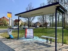 Opnieuw bushokje vernield in Oldenzaal