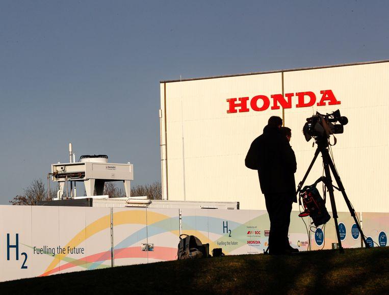 De Honda-fabriek in Swindon.