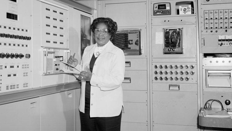 Mary Jackson bij Nasa in de jaren zestig. Beeld Nasa