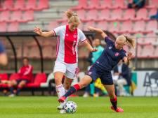 Ajax begint in Vrouwen Eredivisie met zege in topper tegen FC Twente