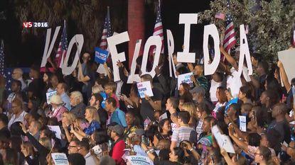 Dé strijdstaat voor Clinton en Trump: Florida