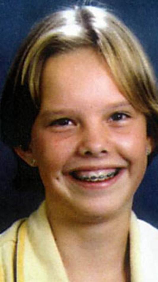 Portret van Sybine Jansons (13) uit Maarn.