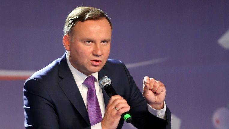 De Poolse president Andrzej Duda is toch geen voorstander van het idee om kleinere samenwerkingsverbanden binnen de EU toe te staan.