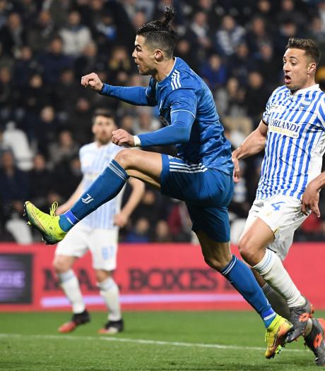 Cristiano Ronaldo fête le 1.000e match de sa carrière en égalant un record en Serie A