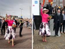 Ken je 'm nog? Máxima droeg vandaag dezelfde outfit als tijdens Koningsdag in Zwolle