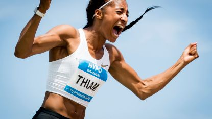"""Nafi Thiam op schema om Europees record te verbeteren: """"Alles ging perfect"""""""