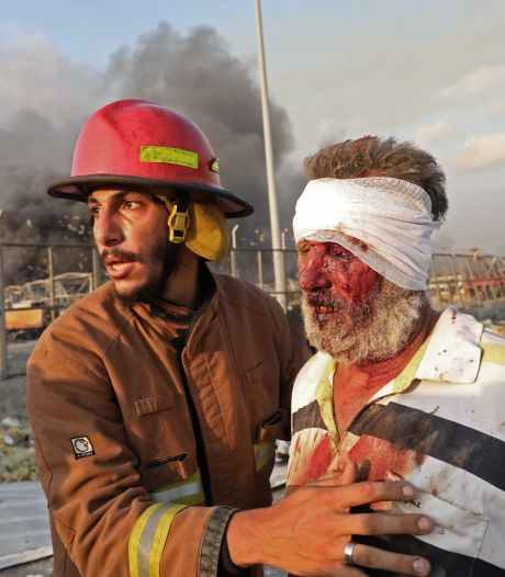 Chaos en ontreddering Beiroet in beeld