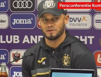 """Kompany: """"Tegen Charleroi gaan we niet veel kansen krijgen. Efficiëntie is een must"""""""