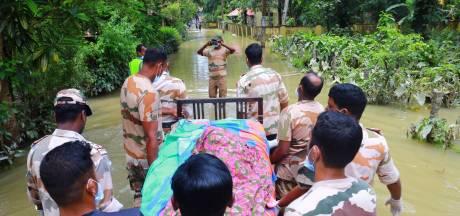 Nu het water zakt, vreest India uitbraak van ziektes