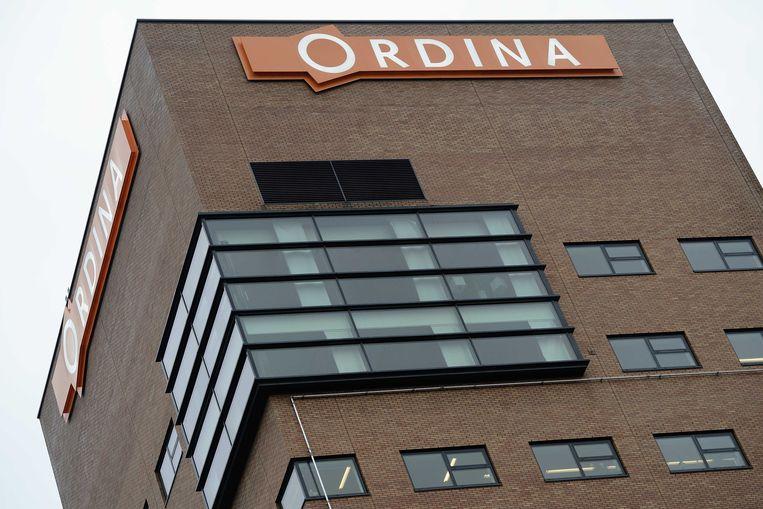 Exterieur van het hoofdkantoor van Ordina in Nieuwegein. Beeld ANP XTRA