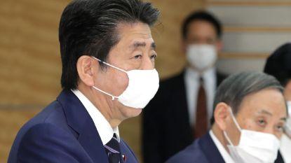 Japanse premier Abe oogst kritiek met coronaboodschap
