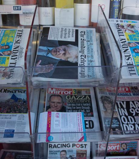 Britse kranten cynisch en sarcastisch na nieuwe brexit-nederlaag premier Johnson