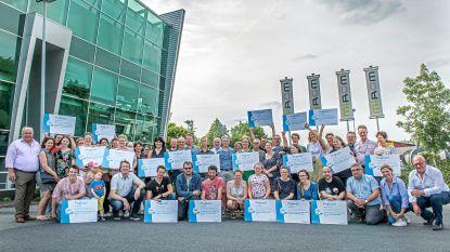 MIROM en Mooimakers delen 20.600 euro uit aan propere scholen en verenigingen