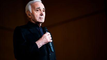 Charles Aznavour wordt zaterdag begraven