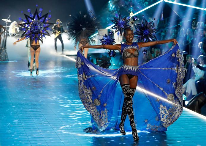 Un défilé de la marque Victoria's Secret
