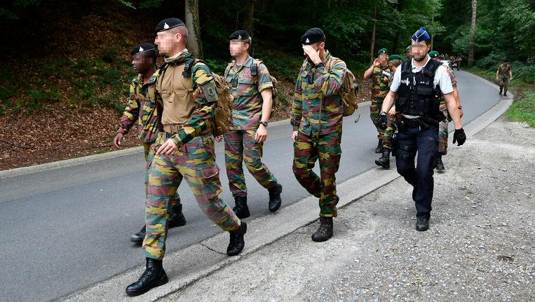 Militairen zoeken vandaag voort naar het lichaam van de piloot in Amay.