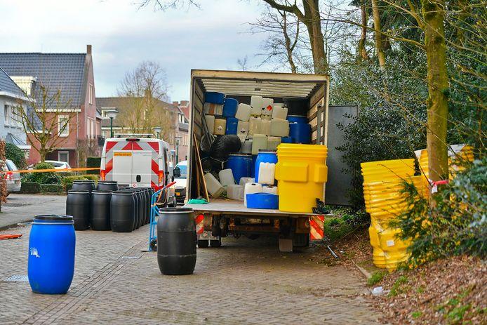 Brutale drugsdumping in centrum Bergeijk