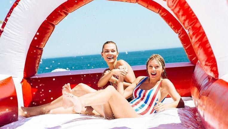 Taylor Swift en Karlie Kloss.