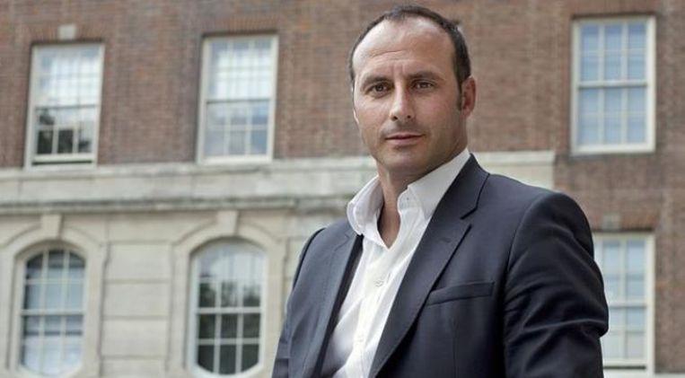 Ramon Vega, oud-international van Zwitserland en voormalig speler van Tottenham Hotspur. Beeld
