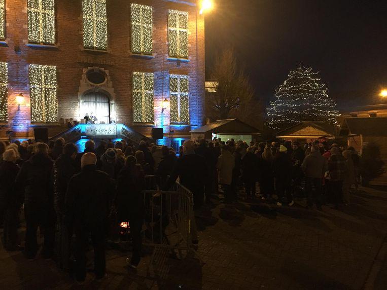 Nieuwjaarsreceptie in deelgemeente Wolvertem.