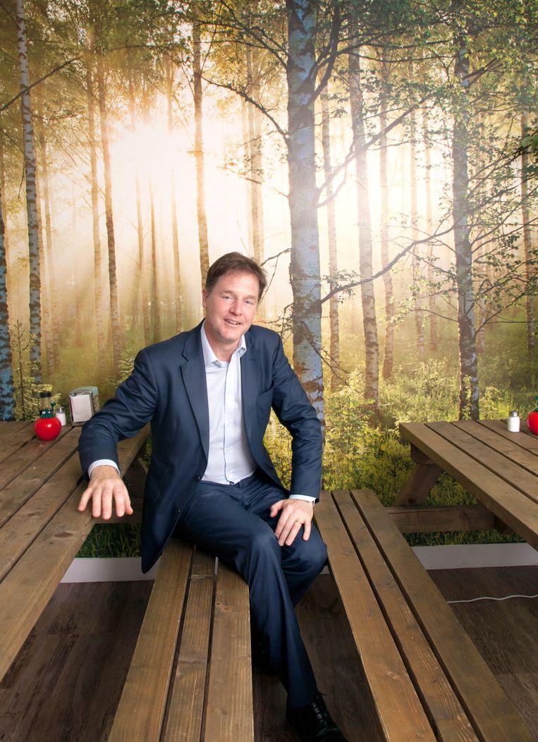 Nick Clegg. Beeld Wassink Lundgren