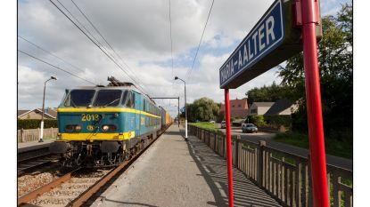 Station Maria-Aalter krijgt tijdelijke stopplaats (en daardoor zijn er op 19 en 20 januari geen treinen)