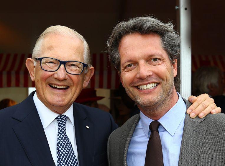 Met Pieter van Vollenhoven Beeld Peter Smulders
