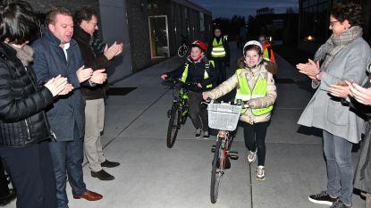 Izegem lanceert fietsbeloningssysteem Buck-e in tien scholen