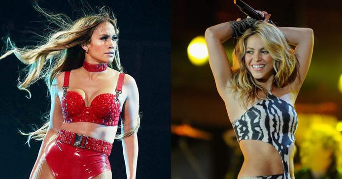 Jennifer Lopez et Shakira