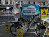 Milieudefensie voert actie in Den Bosch voor betere luchtkwaliteit