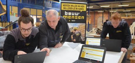 Bouwmensen Twente vernieuwt: Studenten krijgen extra theorieles en praktijk er gelijk achteraan
