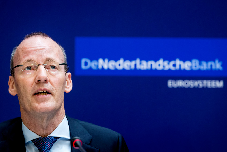 DNB-president Klaas Knot Beeld ANP
