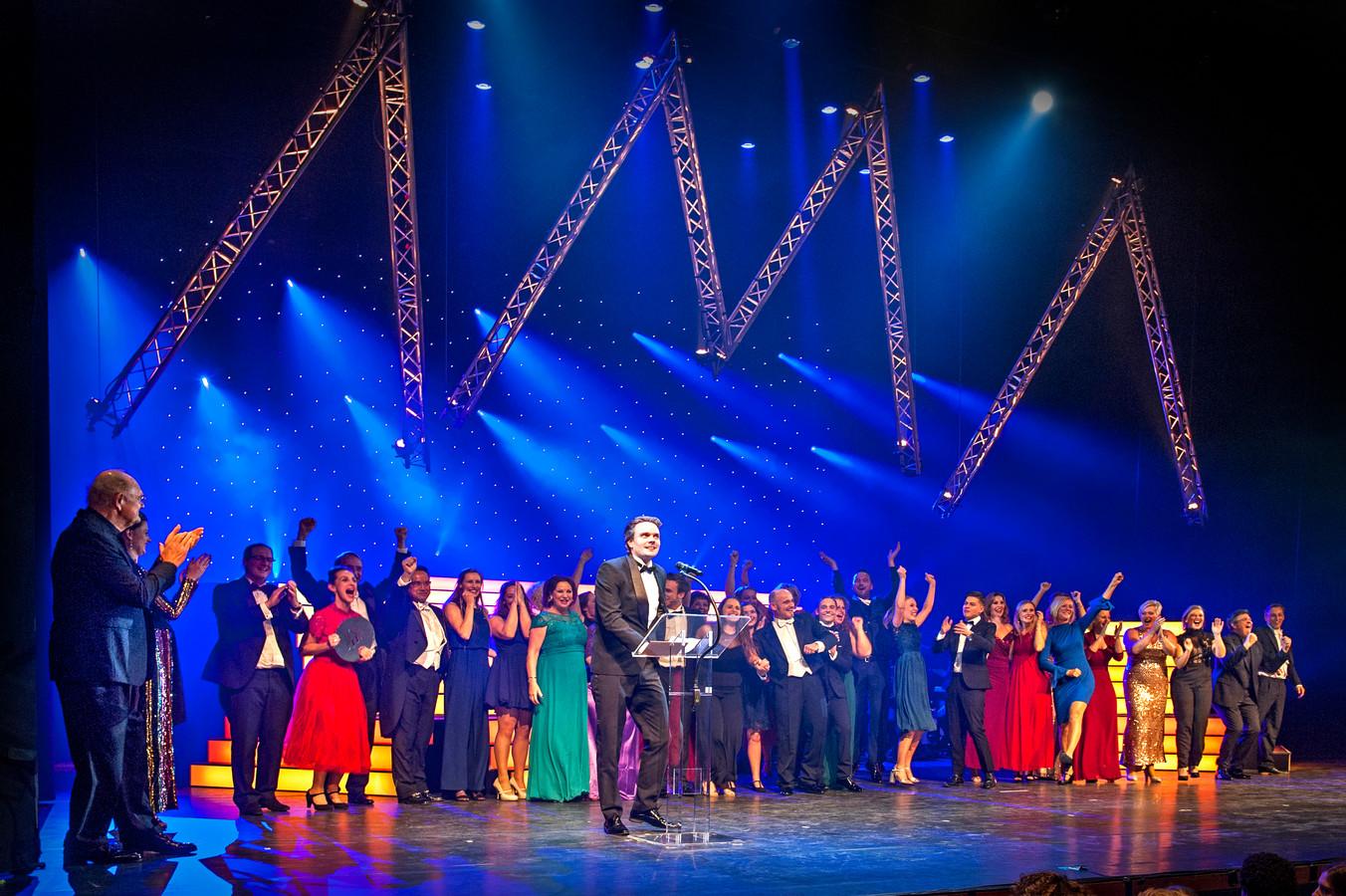 Archieffoto. BOV uit Bergen op Zoom won in december 2018 drie musical awards.