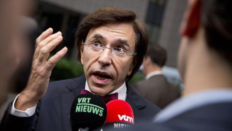 De Belgische premier Elio di Rupo. Beeld ap
