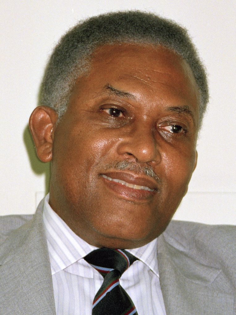 Arthur Robinson in 1991. Beeld AP