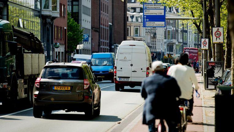 De hoogste concentraties zijn waarschijnlijk in de Randstad en het zuiden van Nederland. Beeld anp