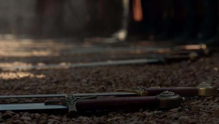De Golden Company van Cersei legt de wapens neer.