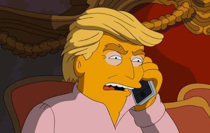 Donald Trump version Simpson, ça donne ça.