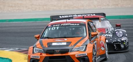 Autocoureur Rick Breukers is in crisis zijn snelheid niet verloren