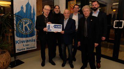 Kiwanis Lier Twee Neten schenkt 4.300 euro aan Don Bosco