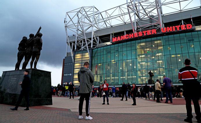 Old Trafford, het stadion van Manchester United.