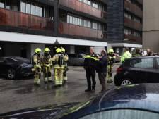 Oudere vrouw naar ziekenhuis door brand in flatwoning Nijmegen, appartementen ontruimd