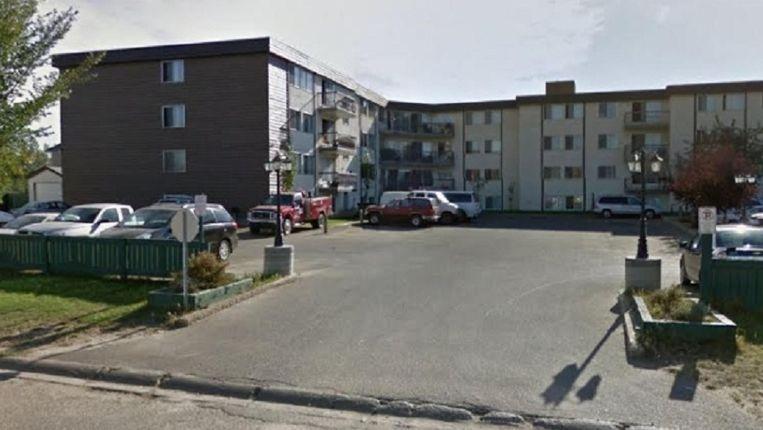 De kinderen werden in een van deze appartementen vergiftigd.