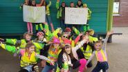 Leerlingen van VBS De Klinker geven fluo aan wintercampagne FLITS
