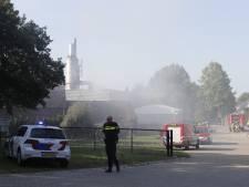 Brand in bedrijfspand van Peutz aan de Lindenlaan in Molenhoek