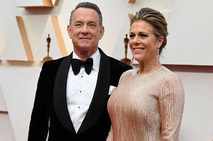 Tom Hanks et Rita Wilso, aux Oscars