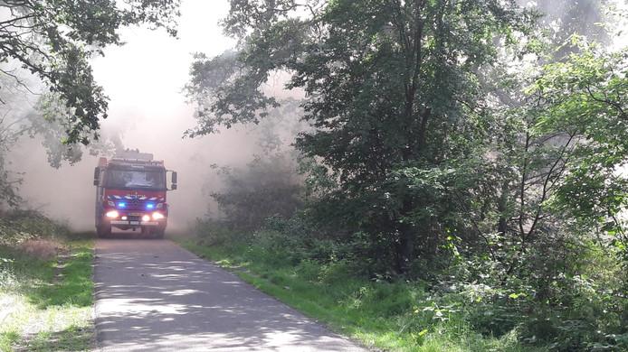 Grote brand in Son en Breugel.