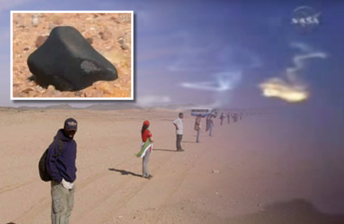 De asteroïde die in 2008 boven Soedan neerkwam, is afkomstig van een verdwenen planeet
